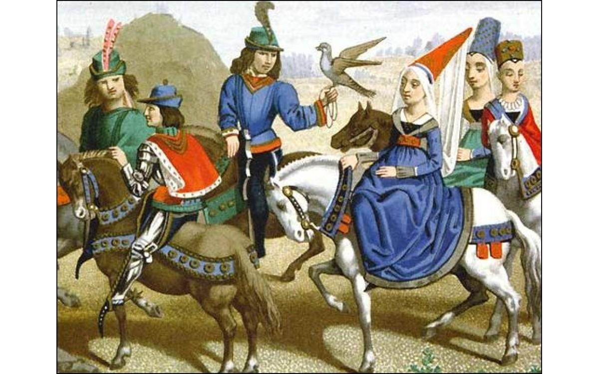 Традиции звериной травли в Средневековой Европе и ..