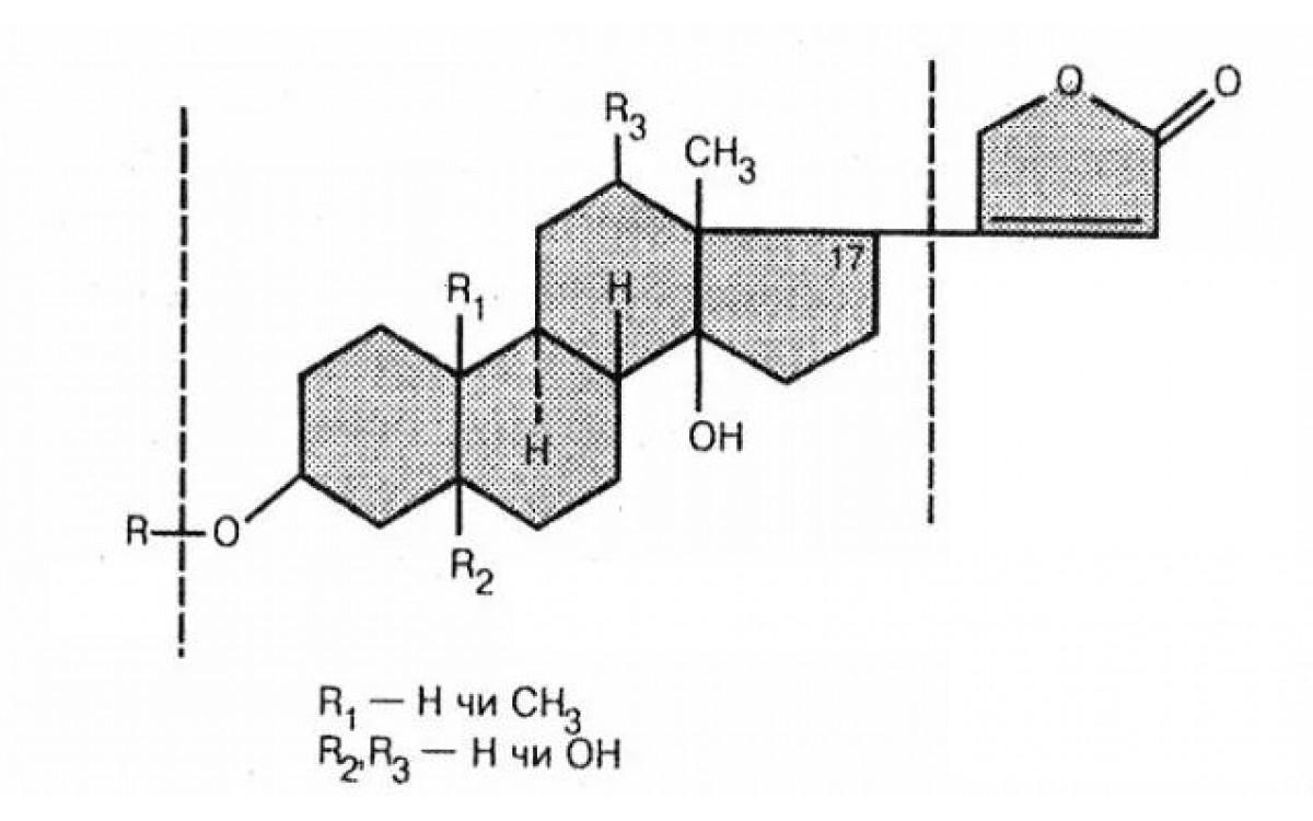 Химические свойства сердечных гликозидов. Контроль..