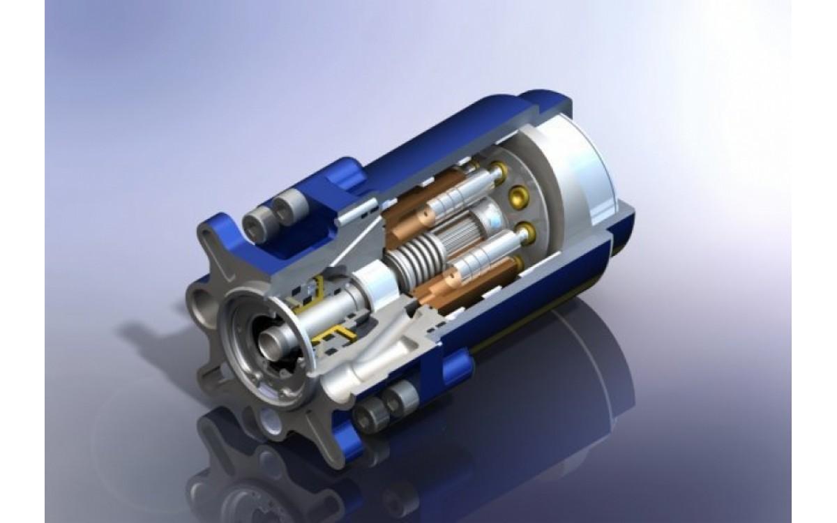 Объемные гидродвигатели. Поршневые гидромоторы. Реферат