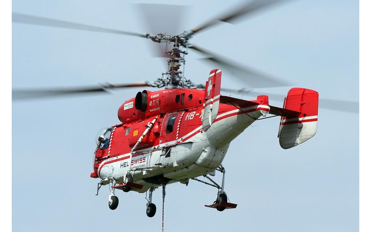 Реферат. Вертолеты пожарные и спасательные
