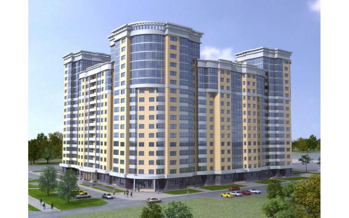 Многоэтажное жилое здание в г. Москве по 4 линии Х..